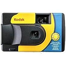 Kodak SUC Daylight 39 800iso Disposable Analogue Camera - Yellow and Blue