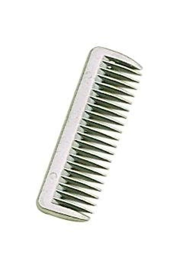 予想外彼女無法者Perri's Aluminum Pulling Comb, Aluminum, One Size [並行輸入品]