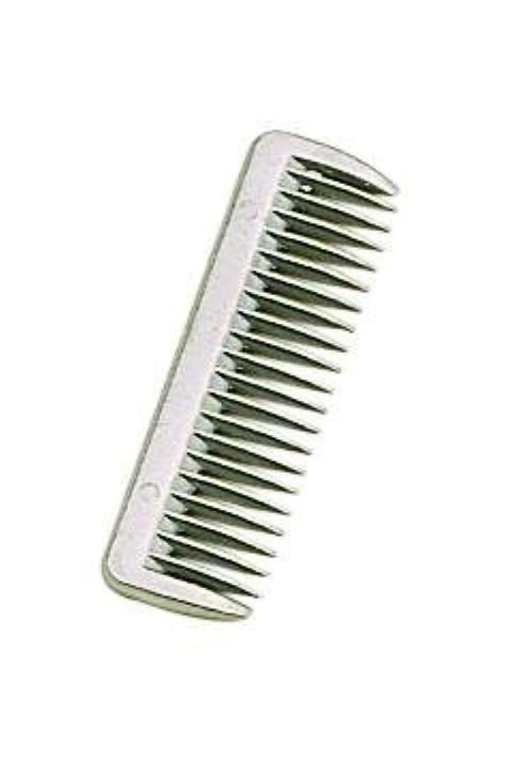 数学者インチアイスクリームPerri's Aluminum Pulling Comb, Aluminum, One Size [並行輸入品]