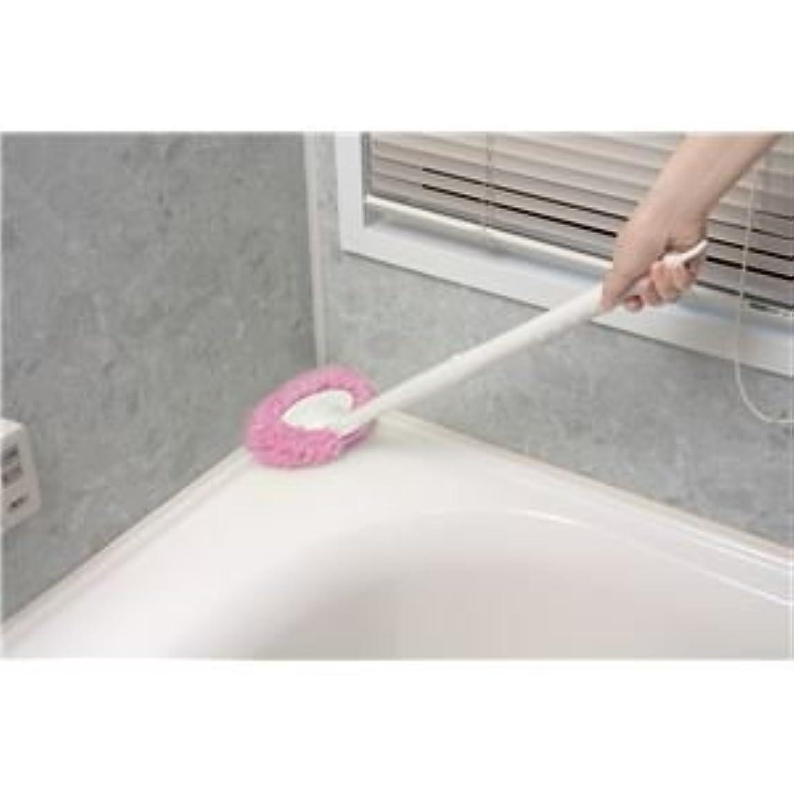 抑制するアナニバー慣らすサンコー お風呂びっクリーナーPI (BO-50) ピンク