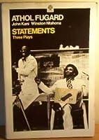 Statements: Three Plays