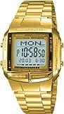 [カシオ]CASIO データバンク 腕時計 メンズ ゴールド DB360G-9A[逆輸入]