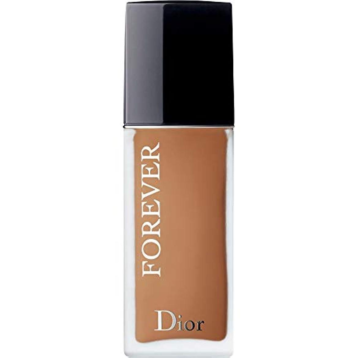 スタンド土地解放[Dior ] ディオール永遠皮膚思いやりの基盤Spf35 30ミリリットルの5ワット - 暖かい(つや消し) - DIOR Forever Skin-Caring Foundation SPF35 30ml 5W -...