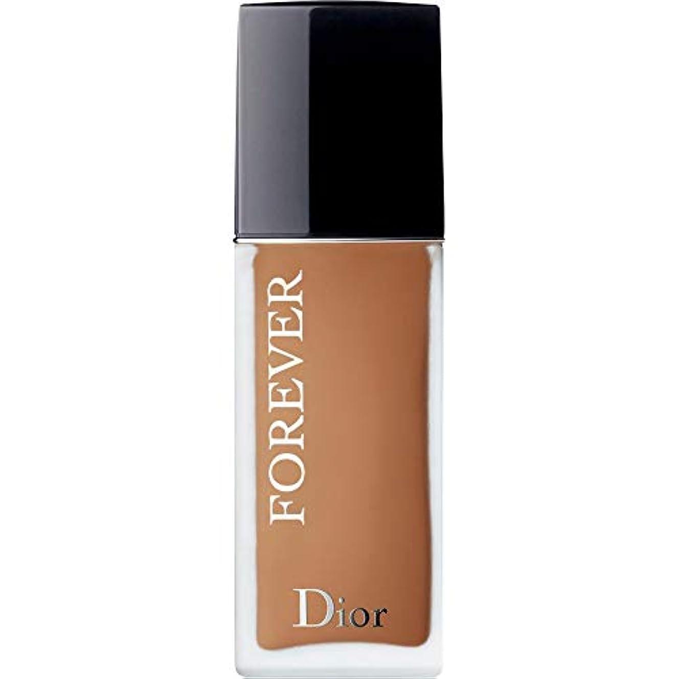 あざ距離夏[Dior ] ディオール永遠皮膚思いやりの基盤Spf35 30ミリリットルの5ワット - 暖かい(つや消し) - DIOR Forever Skin-Caring Foundation SPF35 30ml 5W -...