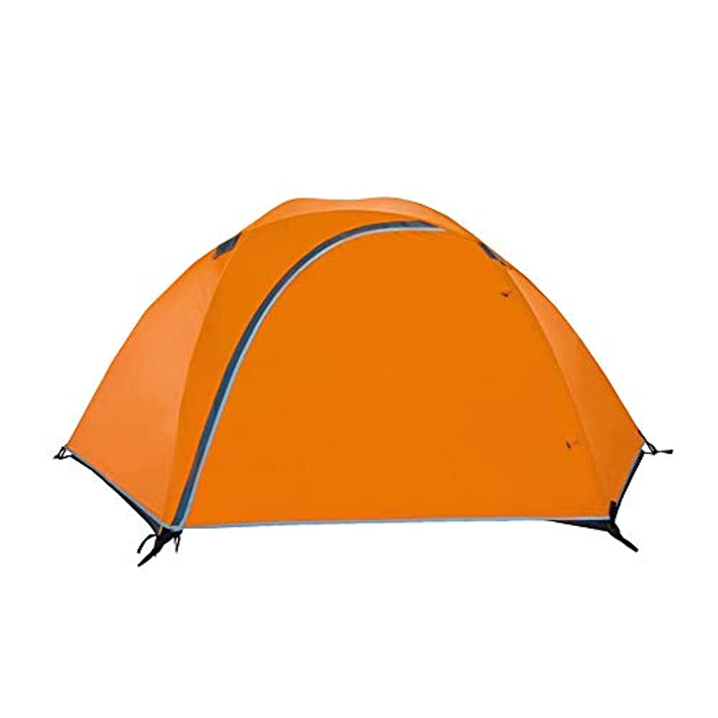 病弱邪魔する傾く屋外キャンプテント、超軽量二層アルミポール防雨プロの高山登山ハイキングテント