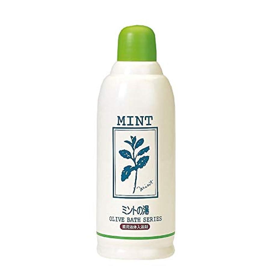 雲平野菊薬用オリーブの湯 ミントの香り 500ML