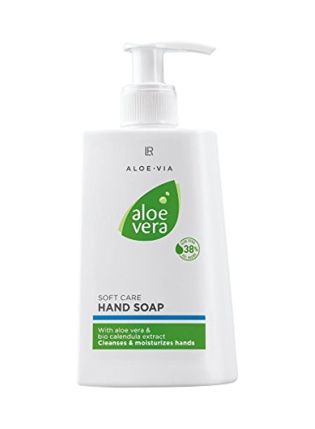 L R アロエベラクリームソープ、手と爪250ミリリットルのためのジェントルsoapfree洗浄ローション