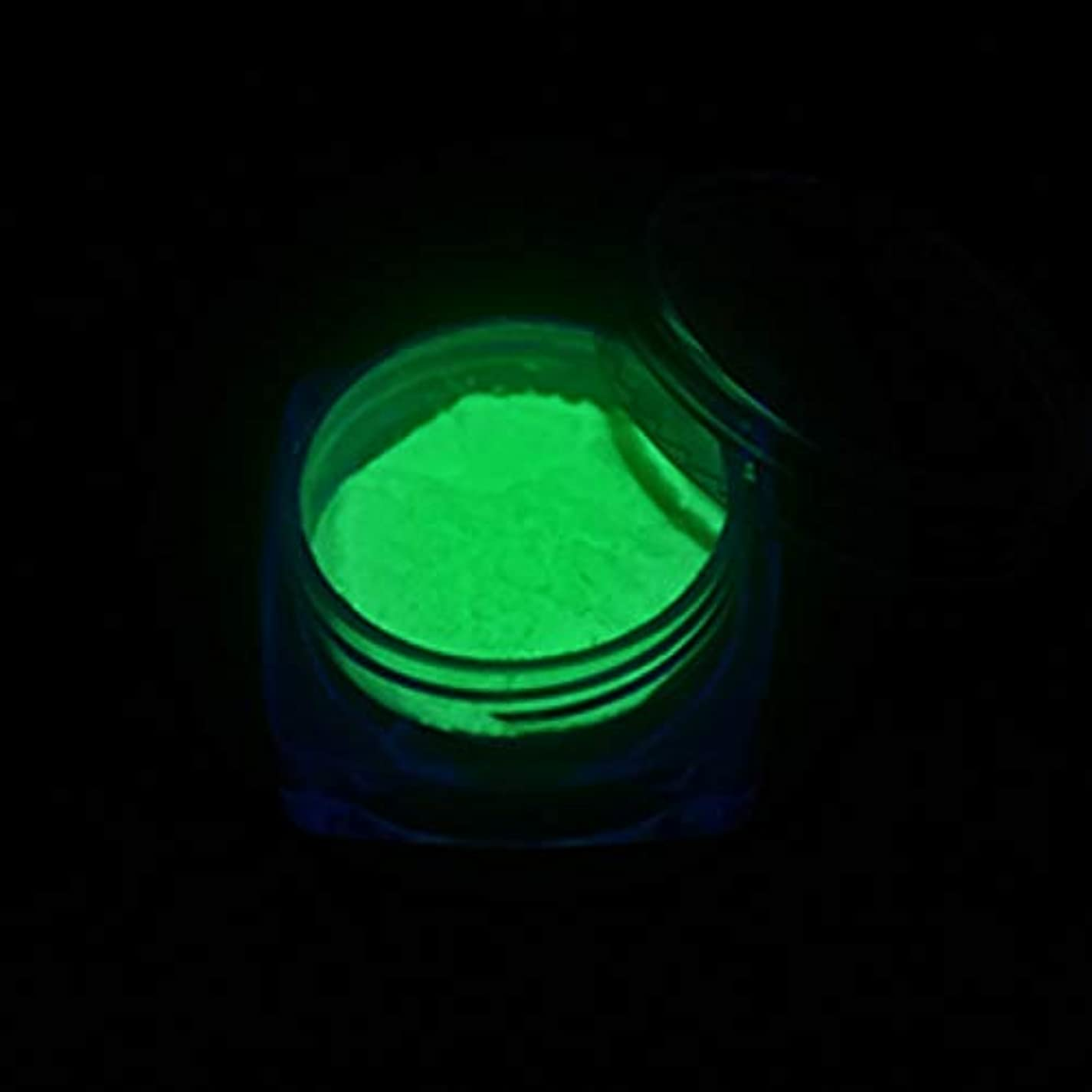 貧しい間隔ドメインMEI1JIA CELINEZL 3 PCSネオン蛍光体パウダーネイルグリッターパウダー(YGF05ダークグリーン) (色 : YGF09 Light Green)