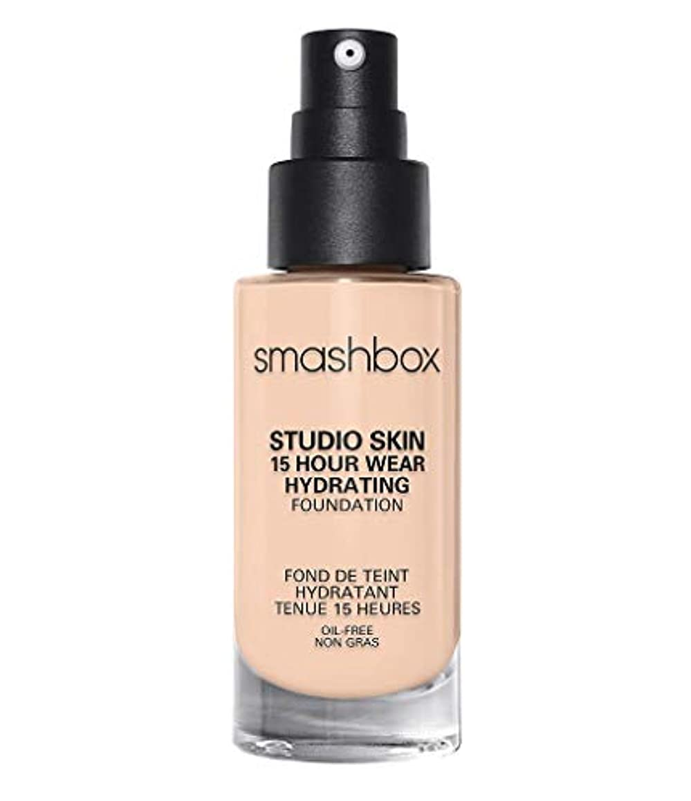 剥離絶対の彼スマッシュボックス Studio Skin 15 Hour Wear Hydrating Foundation - # 0.3 Fair With Neutral Undertone 30ml/1oz並行輸入品