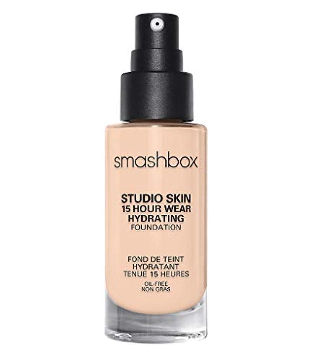 以来飲み込む裸スマッシュボックス Studio Skin 15 Hour Wear Hydrating Foundation - # 0.3 Fair With Neutral Undertone 30ml/1oz並行輸入品