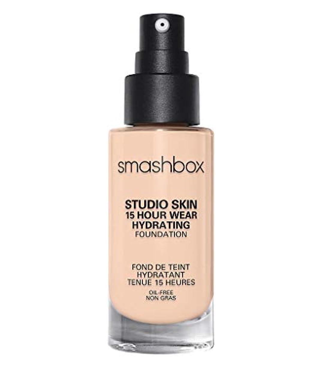 冗談で沿って先スマッシュボックス Studio Skin 15 Hour Wear Hydrating Foundation - # 0.3 Fair With Neutral Undertone 30ml/1oz並行輸入品