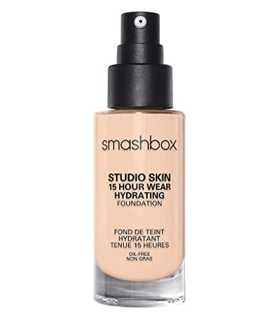 独裁手荷物委員長スマッシュボックス Studio Skin 15 Hour Wear Hydrating Foundation - # 0.3 Fair With Neutral Undertone 30ml/1oz並行輸入品