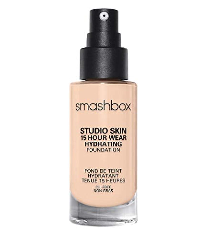 間隔巻き取り縫い目スマッシュボックス Studio Skin 15 Hour Wear Hydrating Foundation - # 0.3 Fair With Neutral Undertone 30ml/1oz並行輸入品