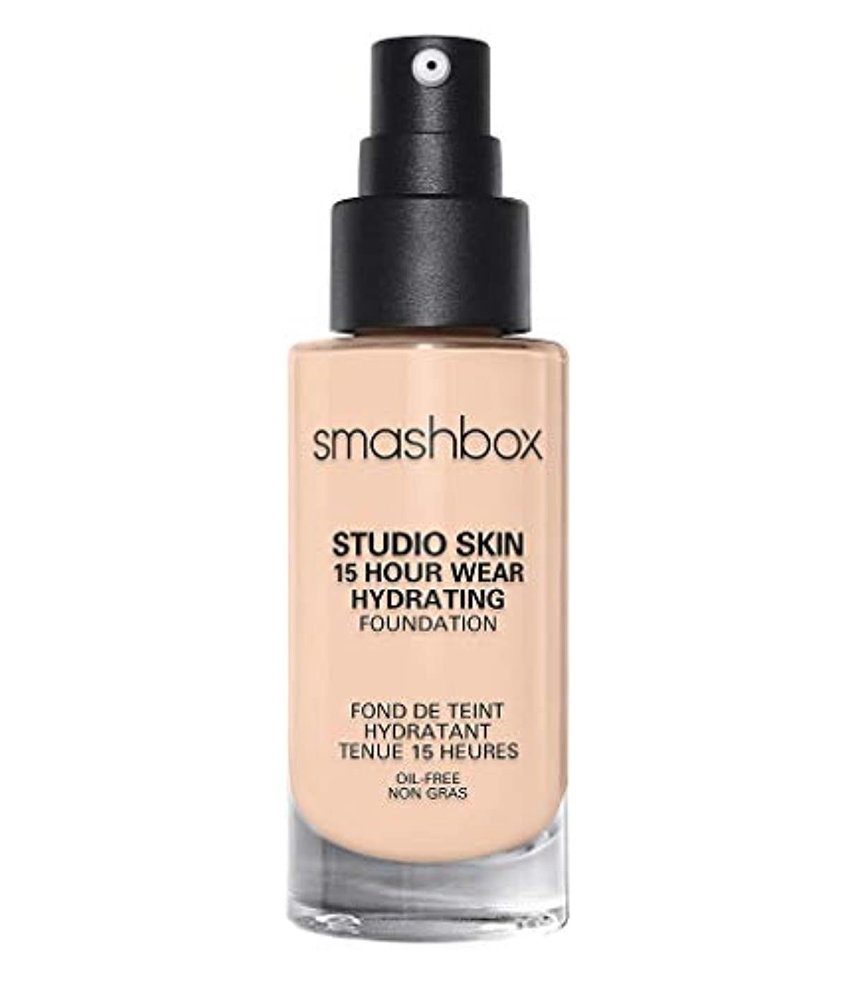 ありそう交流する空のスマッシュボックス Studio Skin 15 Hour Wear Hydrating Foundation - # 0.3 Fair With Neutral Undertone 30ml/1oz並行輸入品