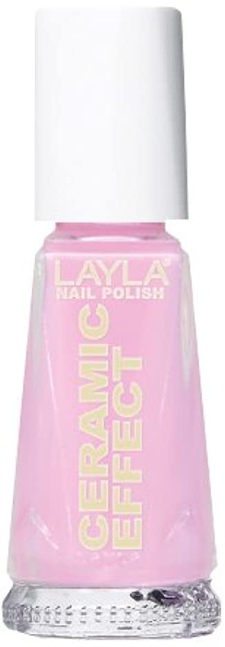すすり泣きデザート格納Smalto Layla Ceramic Effect N.57 My Pink Doll Nail Polish