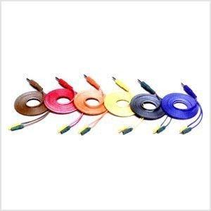 【メディカルブック】 スリーエイトパルスコード 6本1組 - 長さ1.7m - オームパルサー用オプション