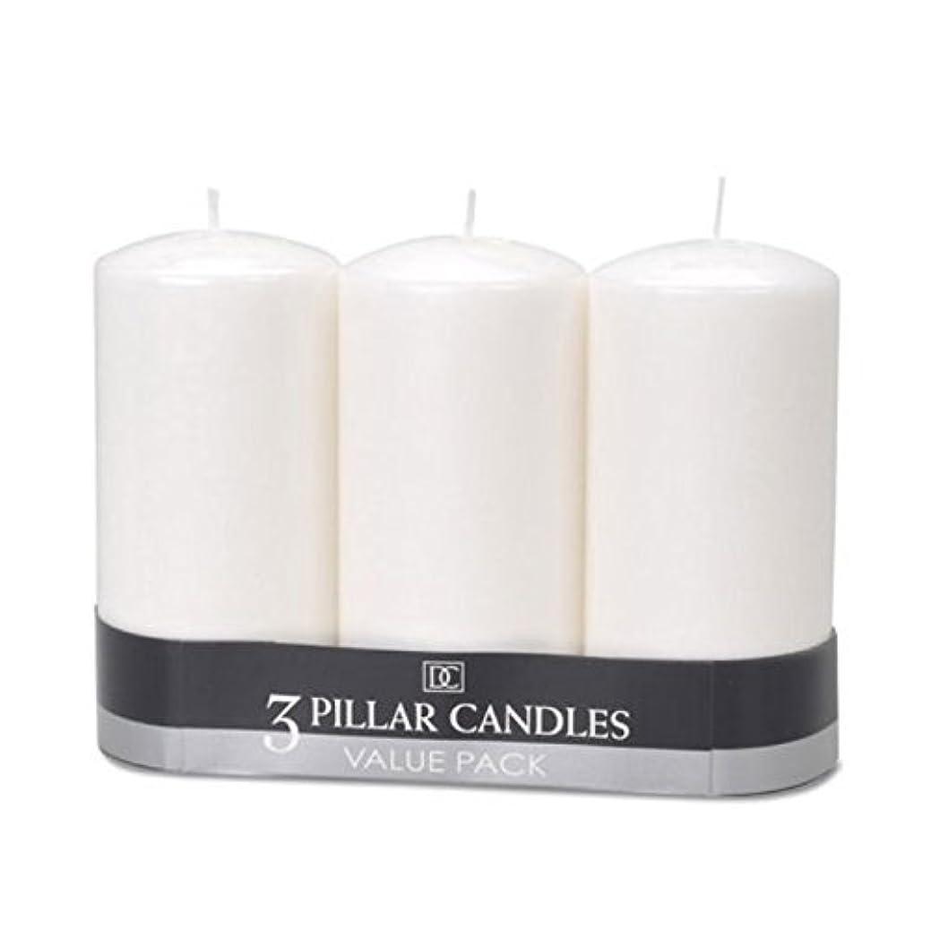 リーク数学者魔法(2) - DYNAMIC COLLECTIONS 3 Pillar Candles value pack, White 2pk