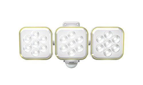 [해외]무사시 RITEX 프리 암 식 LED 태양 광 센서 등 (5W × 3 등) 방수 형 S-90L/Musashi RITEX free arm type LED solar sensor light (5 W × 3 lamps) rainproof type S - 90 L