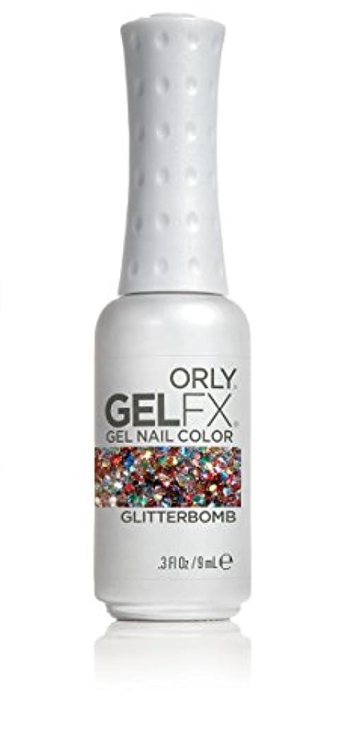 現象時代前部Orly GelFX Gel Polish - Glitterbomb - 0.3oz / 9ml