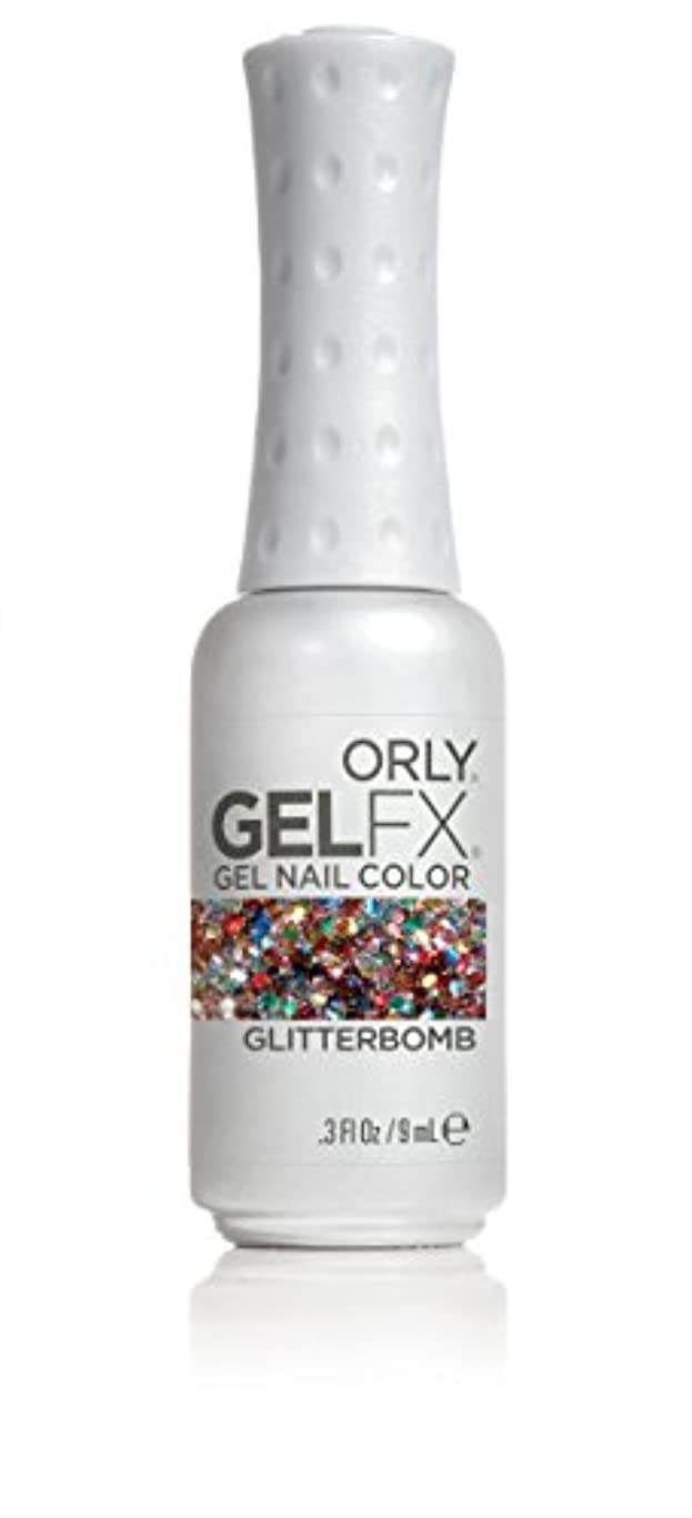 遺伝的活性化する噴火Orly GelFX Gel Polish - Glitterbomb - 0.3oz / 9ml