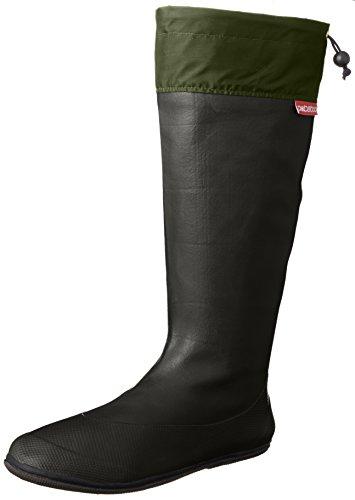 [アトム] 軽くてコンパクト 携帯するブーツ ポケブー pokeboo 両足で500g以下の軽量長靴 371 メンズ チャコール 26.5cm~27.0cm