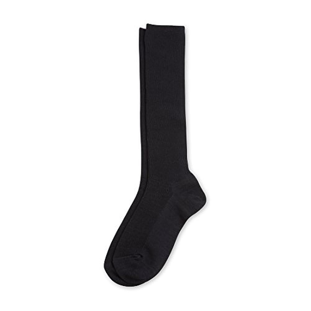 プール体操アジャDeol(デオル) ハイソックス 女性用 日本製 靴下 紺 23cm-25cm