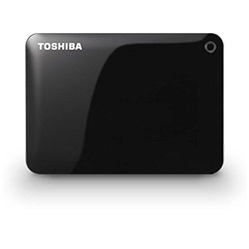 東芝 ポータブルハードディスク CANVIO CONNECT ブラック HD-PF20TK   1コ入  / 東芝 TOSHIBA