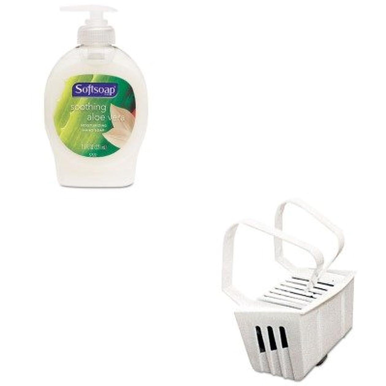 名誉消費者重力kitbgd661cpm26012ea – Valueキット – Non Paraトイレボウルリムハンガー( bgd661 )とSoftsoap Moisturizing Hand Soap w /アロエ( cpm26012ea )