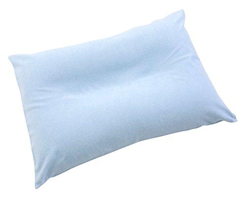 王様の夢枕 ブルー (専用カバー付)W52×D34×H12cm 【マルチ枕付き】