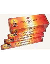 Hem Meditation Incense Sticks 120ct [並行輸入品]