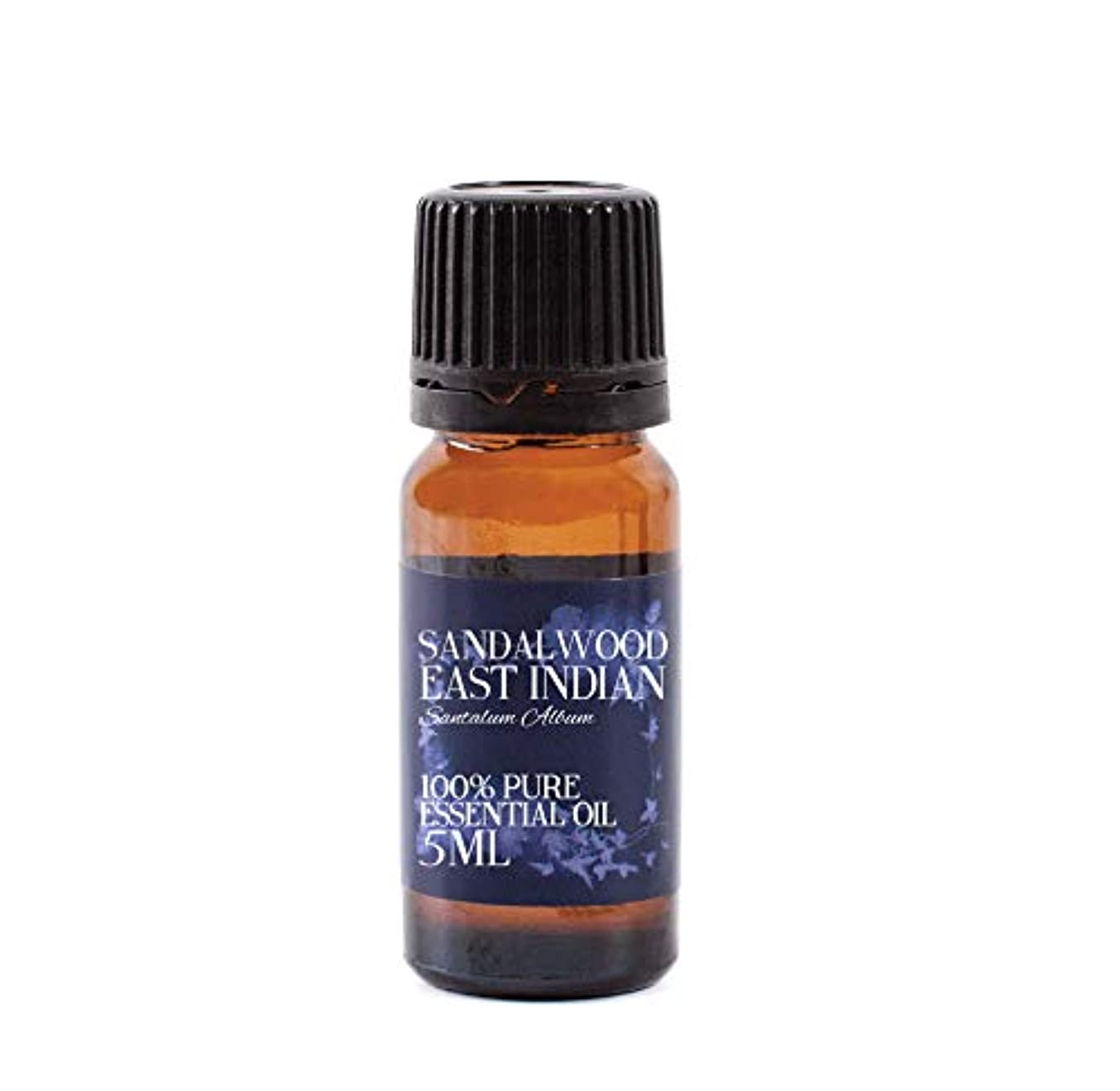 軽地区免除するMystic Moments | Sandalwood East Indian Essential Oil - 5ml - 100% Pure