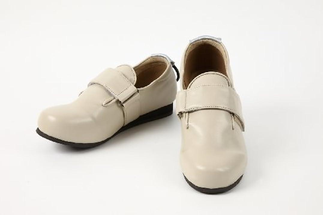 熱意摂氏度ログ室外用介護????? うららか高齢者用靴ケア?????合皮ベルト?????U-001サイズ20.5cm~27.0cm (22.5ー23.0(S), ベージュ)