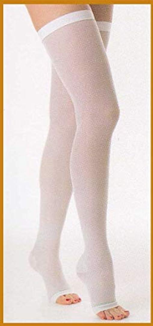 憤る首流行しているリラクサン弾性ストッキング ストッキング 18-23mmHg カラー:ホワイト 1-S