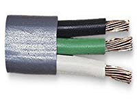14/3 Brake Cable Gray 105C Pvc Jacket Gpt White Black Green-250Feet