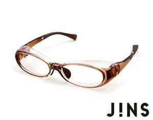 【JINS 花粉Cut】花粉などの異物から眼を保護するメガネ (LIGHT BROWN)