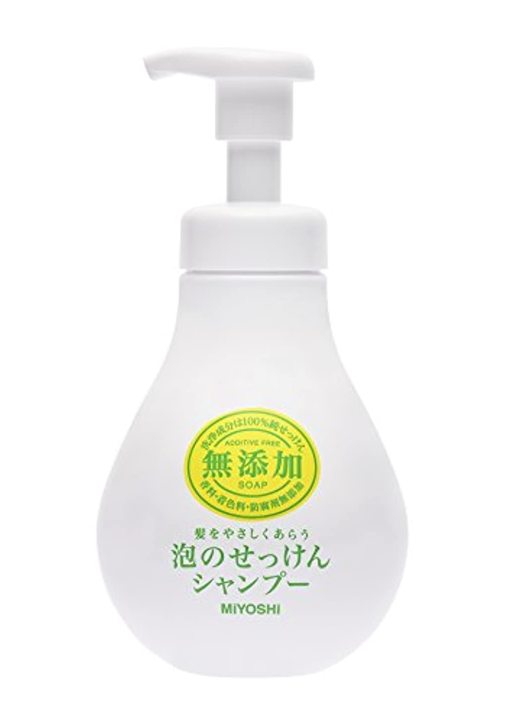 ディーラーネクタイ立場ミヨシ石鹸 無添加 泡のせっけんシャンプー シャンプー本体 500mL