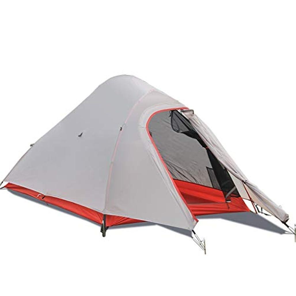 聖人企業まだ屋外テント超軽量シングルアンチストームキャンプキャンプ登山アルミポールテント機器