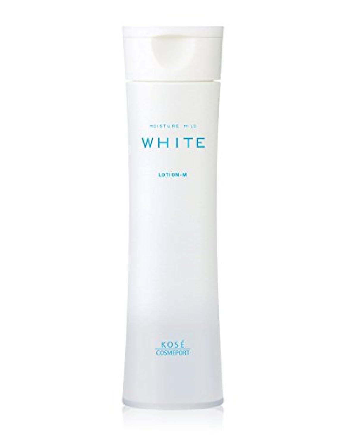 流暢染色付けるモイスチュアマイルド ホワイト ローションM (しっとり 化粧水) 180mL