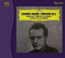 エソテリック SACD  ブラームス 「交響曲第4番」 カルロス・クライバー指揮 ウィーン・フィルハーモニー管弦楽団
