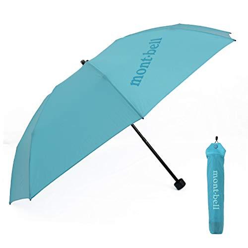 [モンベル] mont-bell 傘 6色 折りたたみ傘 エアライトナイロン トレッキングアンブレラ 10デニール 折り畳み傘 8本骨 アウトドア 雨傘 雨具 1128551 (06 ターコイズブルー)