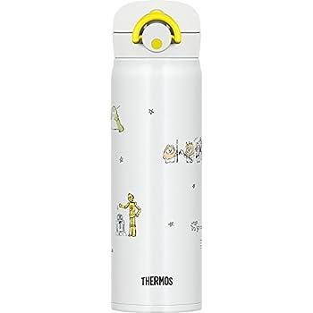 サーモス 水筒 真空断熱ケータイマグ 【ワンタッチオープンタイプ】 スターウォーズ 500ml ドゥードゥルホワイト JNR-500SW DDW