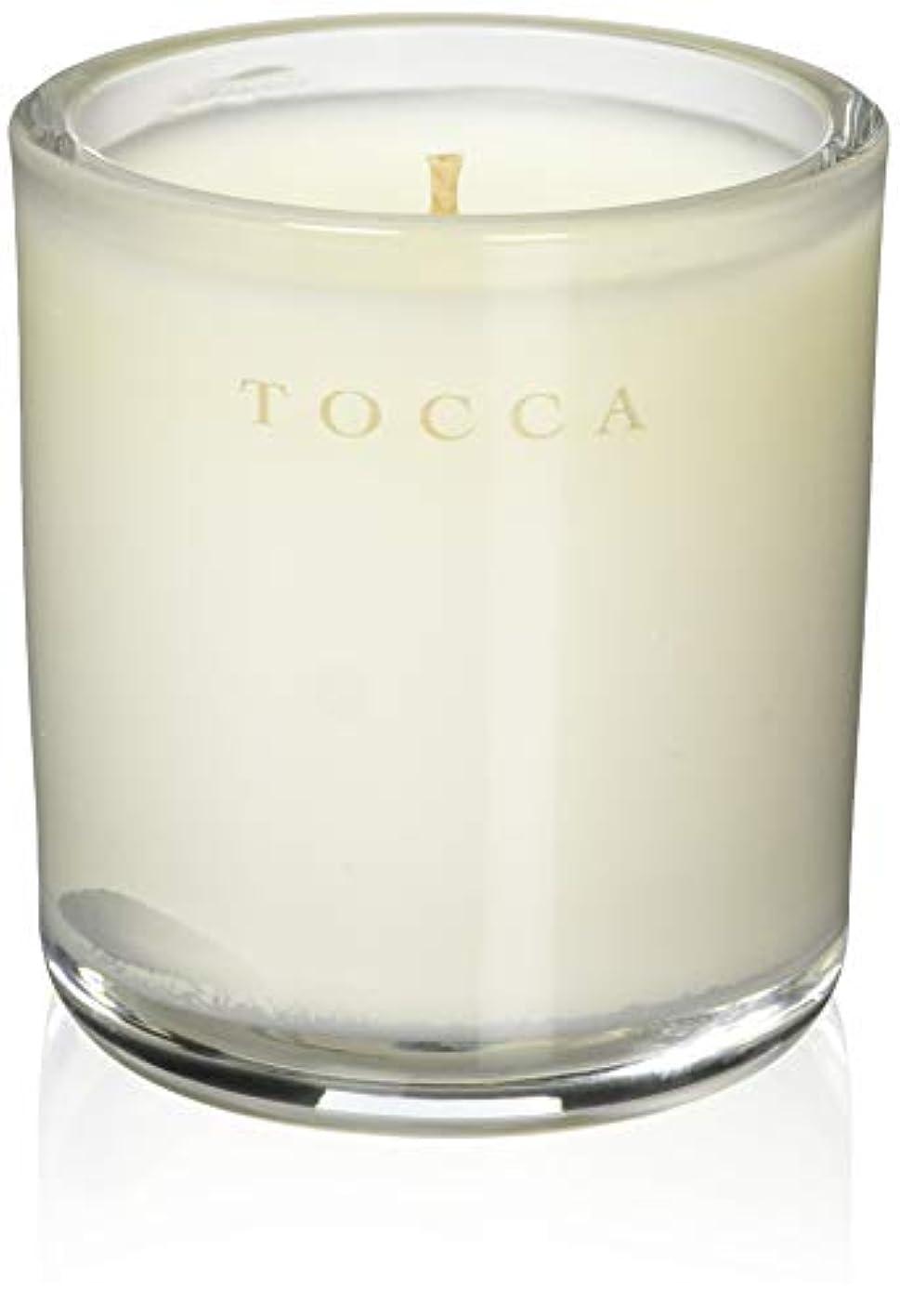 手荷物ブースト変動するTOCCA(トッカ) ボヤージュ キャンデリーナ モントーク 85g (ろうそく 芳香 キューカンバーの爽やかな香り)