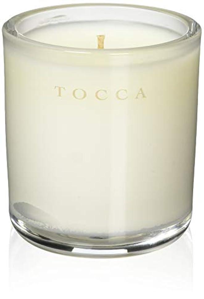 寝室を掃除する笑有力者TOCCA(トッカ) ボヤージュ キャンデリーナ モントーク 85g (ろうそく 芳香 キューカンバーの爽やかな香り)