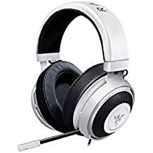 Razer Kraken Pro V2 - Oval Ear Cushions - Analog Gaming Headset for PC, Xbox One, Playstation 4, and Nintendo Switch - White