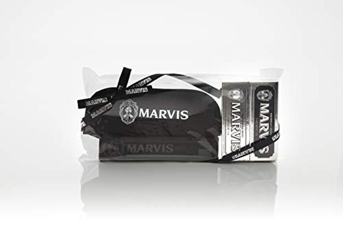 独特のアンソロジー報酬のMARVIS(マービス) トラベル?セットDouble Flavors (歯みがき粉?歯ブラシ?ポー