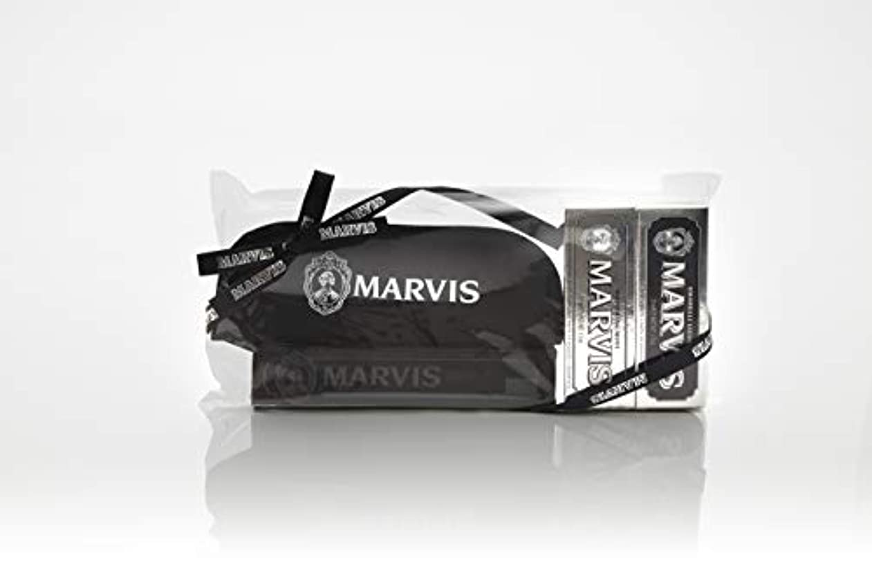 ヘッジ理論的もMARVIS(マービス) トラベル?セットDouble Flavors (歯みがき粉?歯ブラシ?ポー