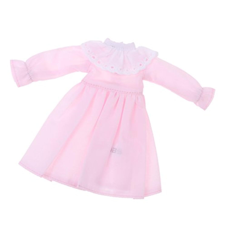 Fenteer ファッション ドール服 1/6スケール ブライス アゾン リカドール用 スカート ワンピース 高品質