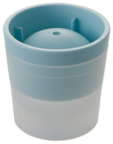 like-it 丸氷 製氷器 アイスボールメーカー (俺の丸氷) ライトブルー 直径6cm STK-06L