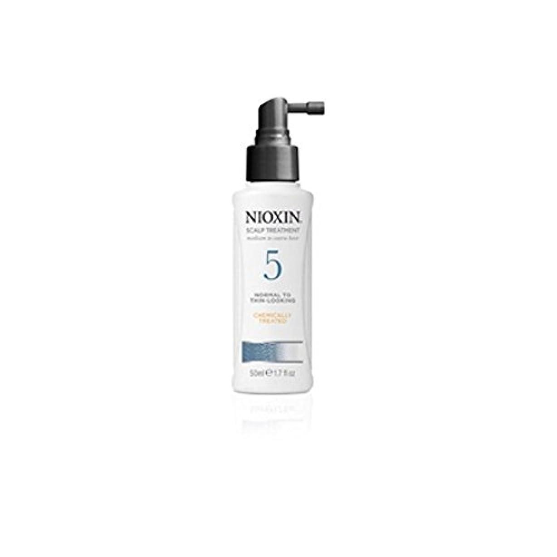 割り当て水陸両用自発Nioxin System 5 Scalp Treatment For Medium To Coarse, Normal To Thin Looking, Natural And Chemically Treated Hair...