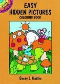 Easy Hidden Pictures Coloring Book by Dover